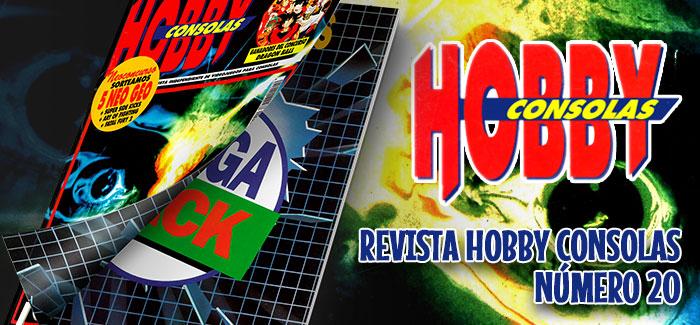 Revista Hobby Consolas Nº 20 (1993)