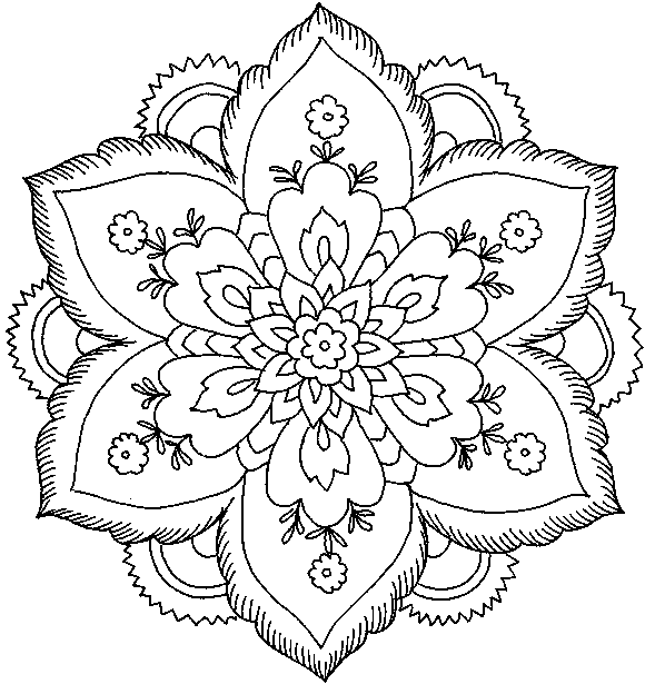 Printable Spring Flower Coloring Pages - Best Coloring Pages Collections