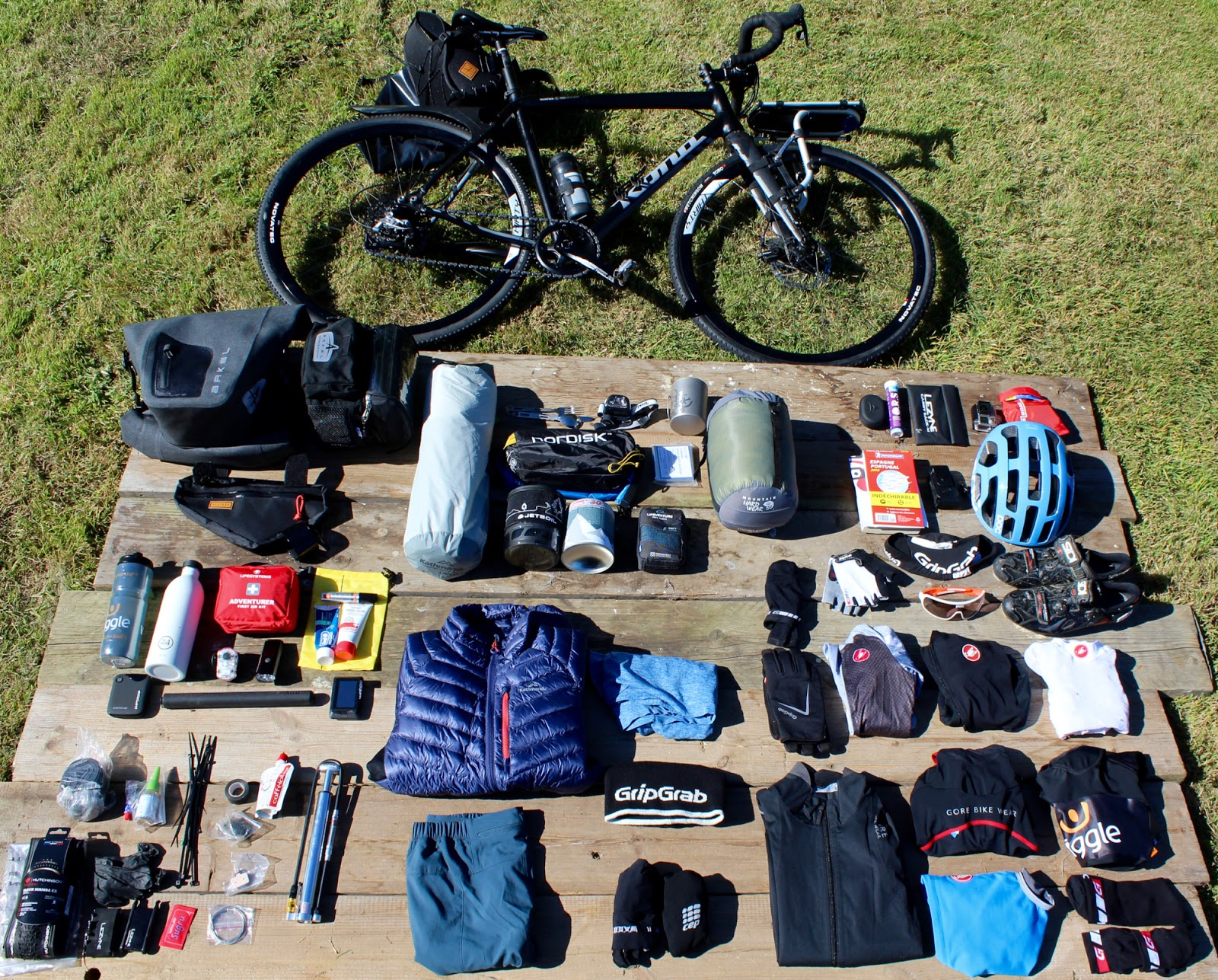 Top Tips for Bikepacking