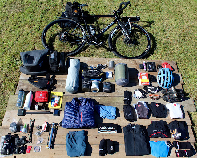 bike packing kit list