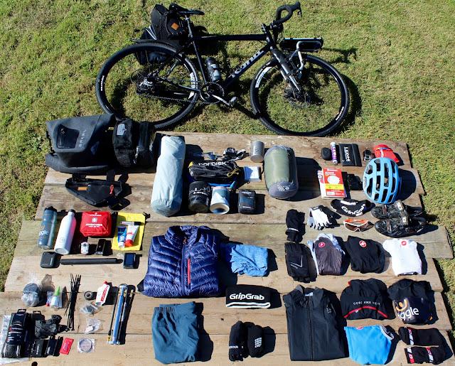 bike packing kit list
