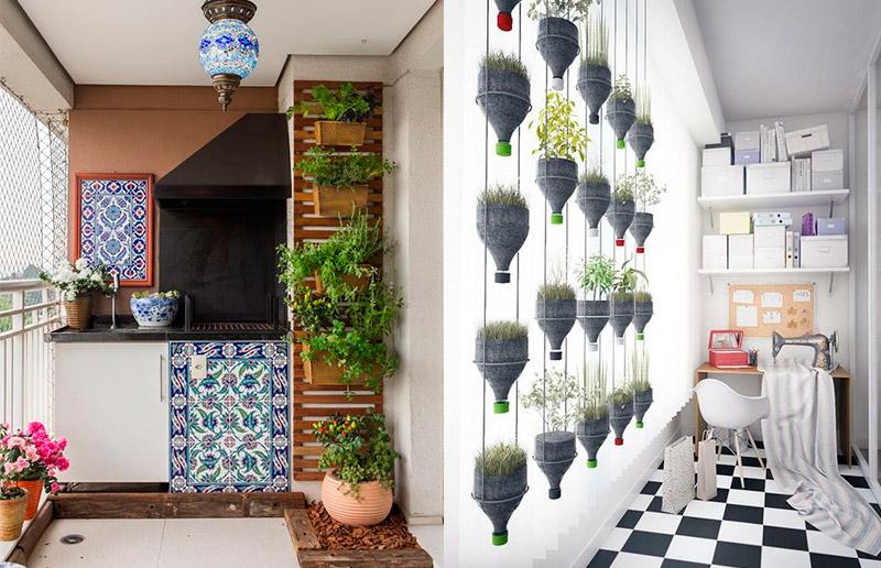 Horta de varanda