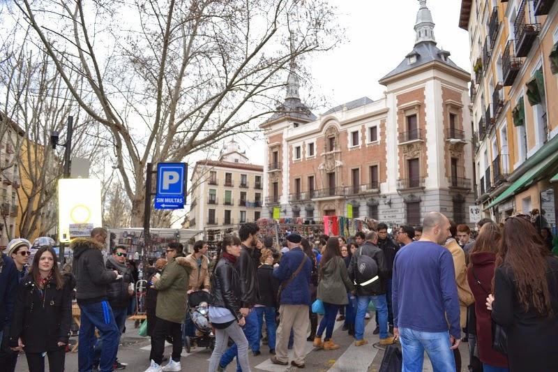 Madrid, espagne, Latina, Rastro