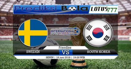 Tim nasional Korea Selatan bakal bertamu ke Stadion Nizhny Novgorod utk hadapi Swedia di kelanjutan fase grup Piala Dunia minggu itu. Duel cukup besar yang melibatkan dua tim Swedia versi Korea Selatan itu akan di langsungkan pada pukul 19 : 00 WIB,