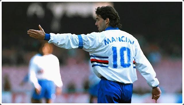Roberto Mancini Sampdoria