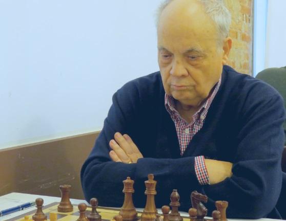 El ajedrecista Jaume Anguera Maestro en 2007