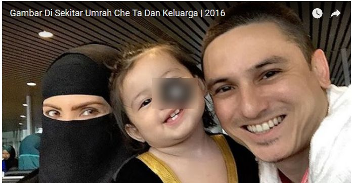 Rozita Che Wan Berniqab Ketika Umrah, Netizen Bimbang