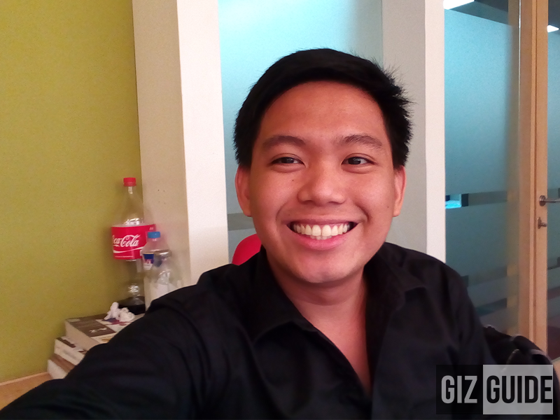 Selfie test using Acer Liquid Z630