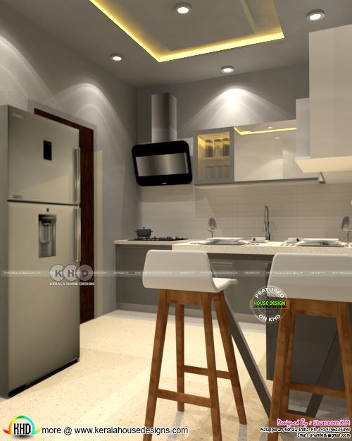 Interior designs by Shameem K M from Malappuram