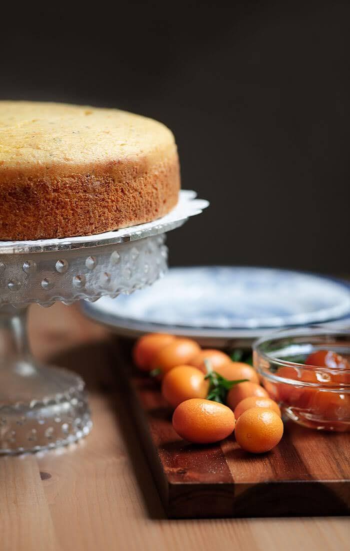 Easy Kumquat Cake
