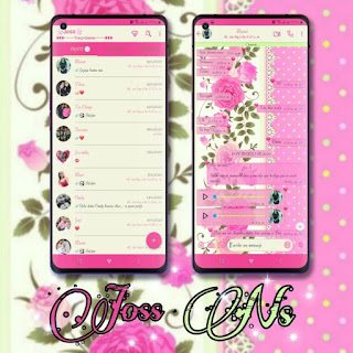 Flowers Theme For YOWhatsApp & NS WhatsApp By Joss