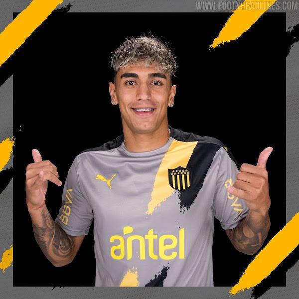 Peñarol 2021 Away Kit Released - Footy Headlines