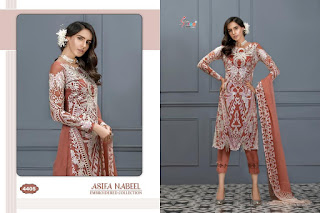 Shree Fab Asifa Nabeel Pakistani Suits Wholesaler In Surat