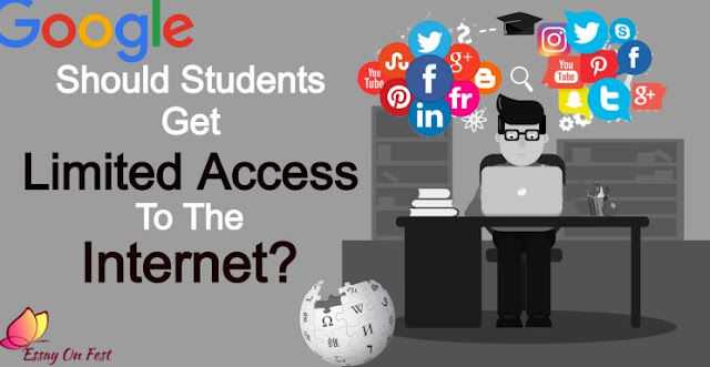Should Students get Ilimited access to the Internet?