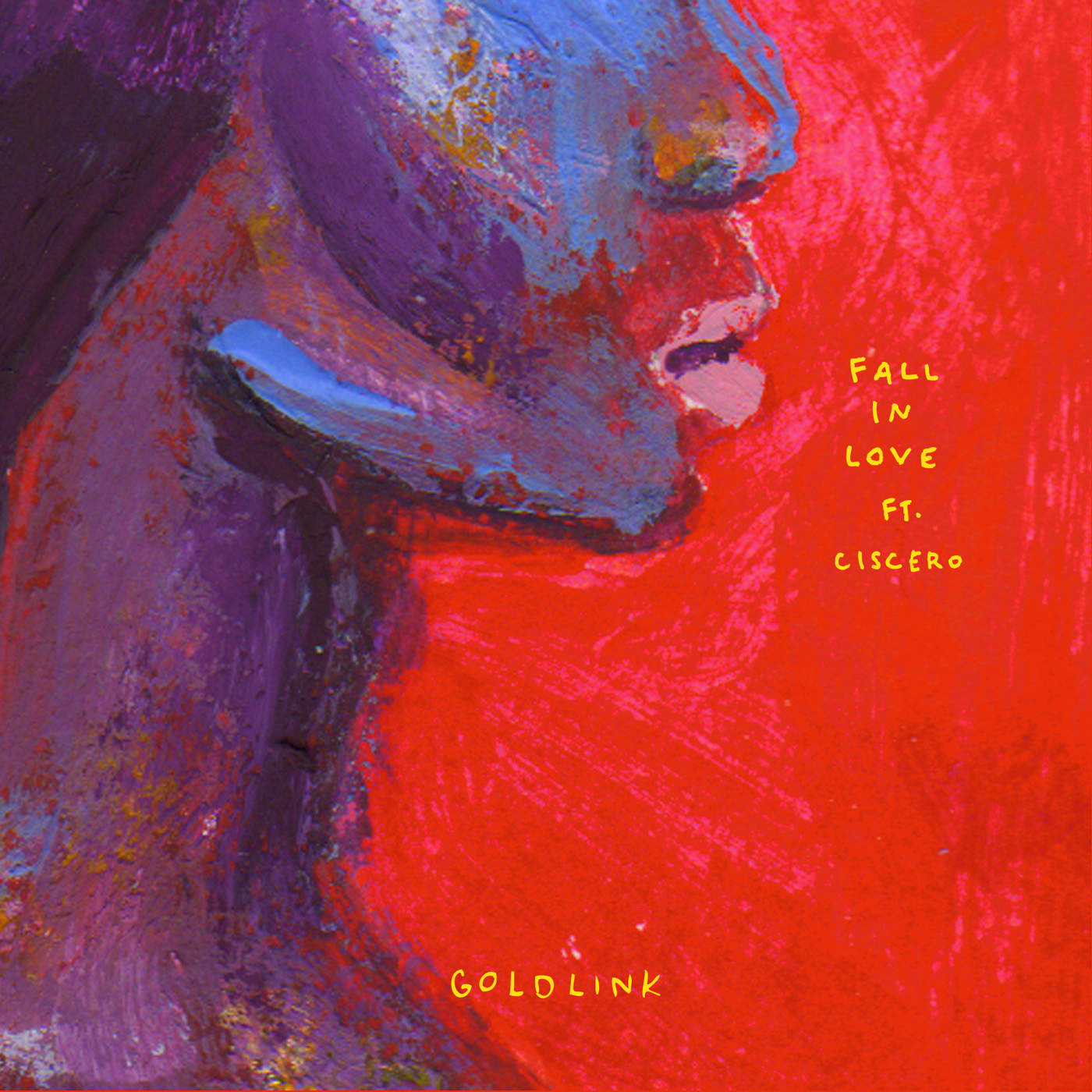 GoldLink - Fall in Love (feat. Ciscero) - Single Cover