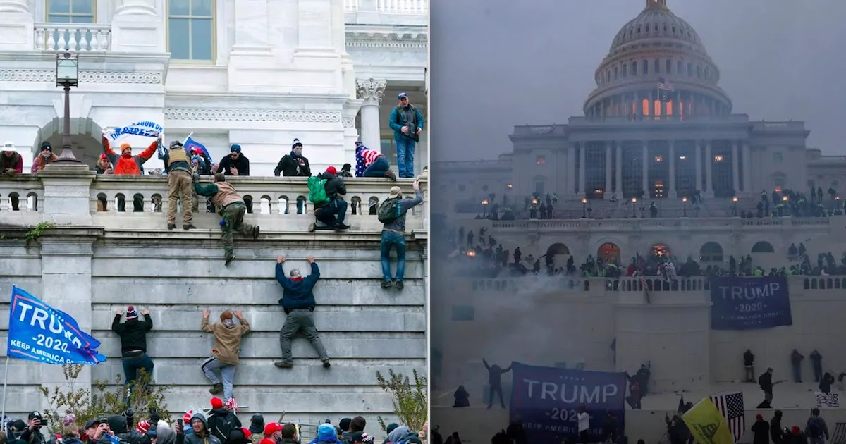 Four People Die After Trump Supporters Invade Capitol Building In Washington D.C.