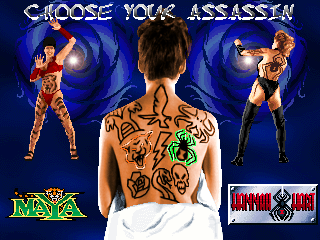 Tattoo Assassins+arcade+game+portable+retro+fight{select players