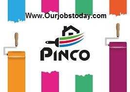 وظائف خالية بشركة بينكو للدهانات PINCO