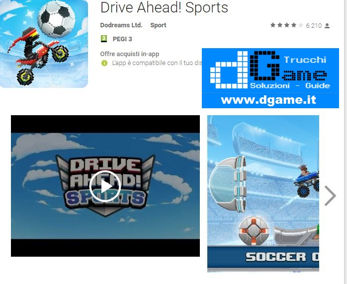 Trucchi Drive Ahead! Sports Mod Apk Android v1.2.0