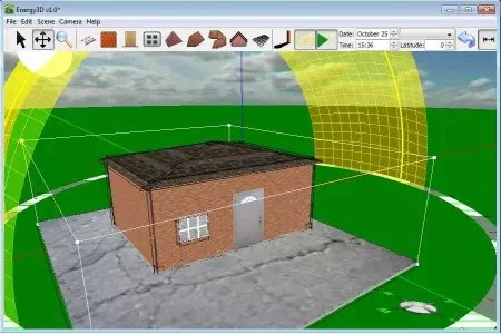 Sofware untuk membuat model bangunan 3D-3