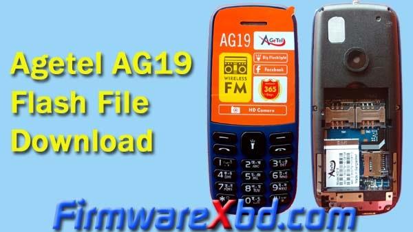 Agetel AG19 Flash File Download 6531E Firmware