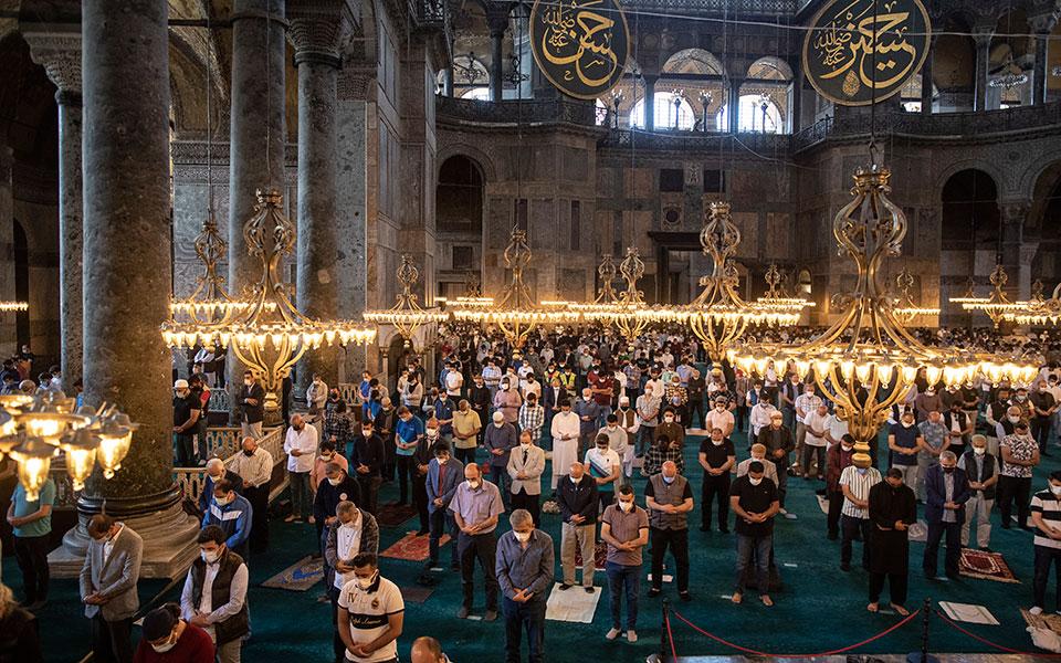UNESCO κατά Τουρκίας για τη μετατροπή της Αγίας Σοφίας σε τζαμί