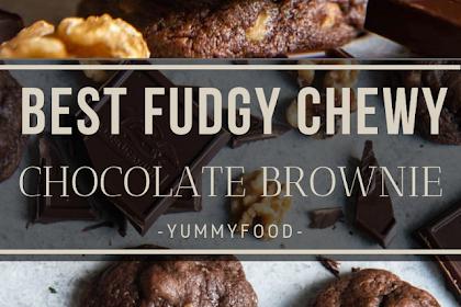 FUDGY CHEWY CHOCOLATES BROWNIE