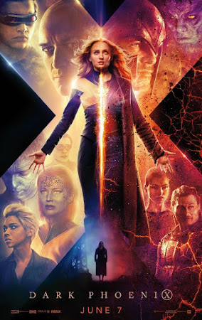 Poster Of X-Men: Dark Phoenix In Dual Audio Hindi English 300MB Compressed Small Size Pc Movie Free Download Only At worldfree4u.com
