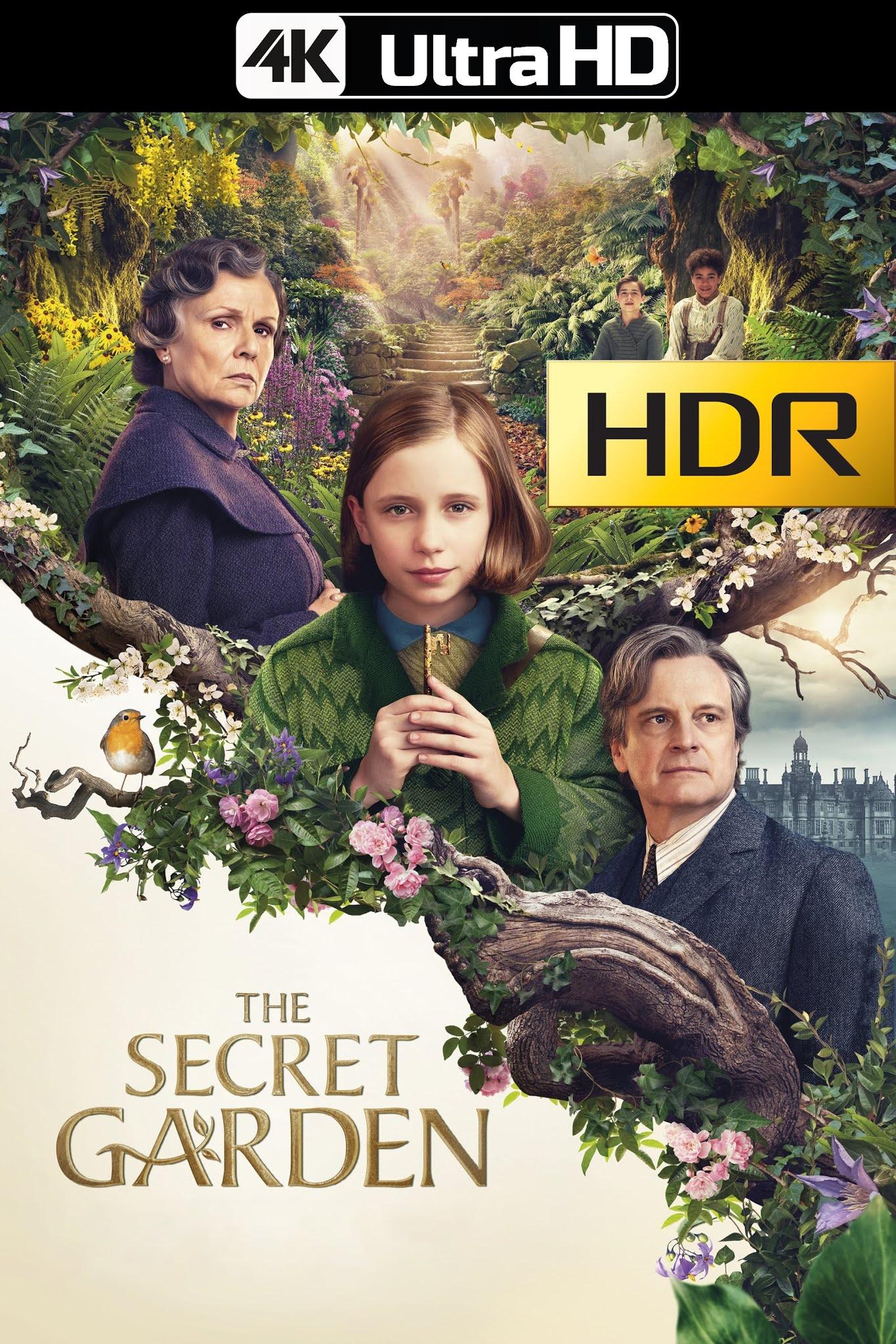 El Jardín Secreto (2020) 4K UHD HDR Web-DL Latino
