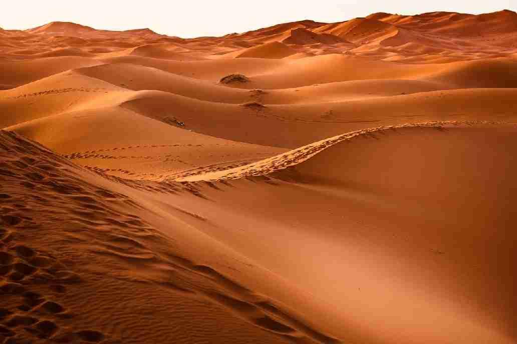 Megaripples on Mars