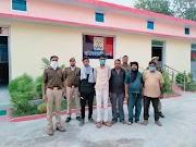 कोतवाली उरई पुलिस एवं SOG की संयुक्त टीम द्वारा अपहरण की घटना में शामिल 5 शातिर अभियुक्तों को गिरफ्तार कर जेल भेजा