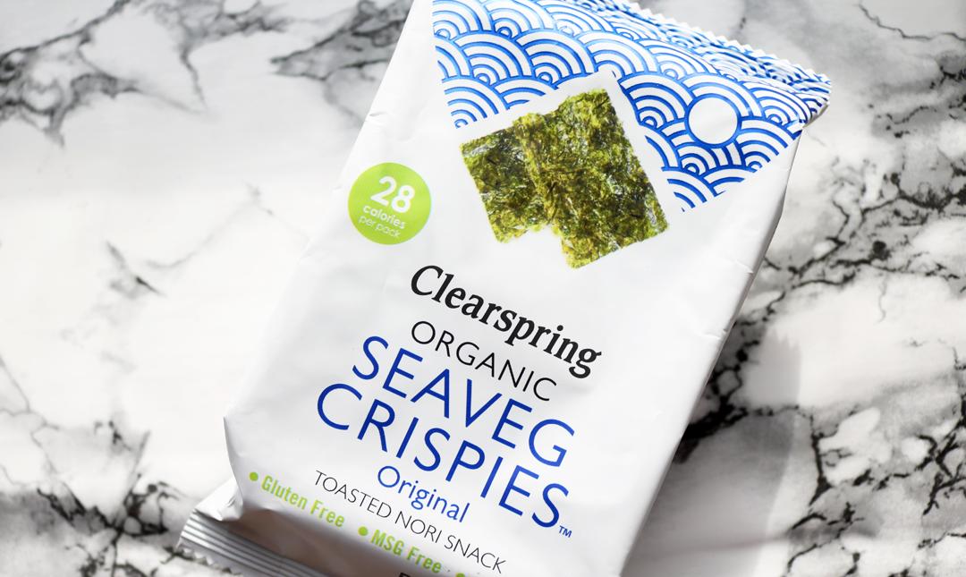 Clearspring Organic Seaveg Crispies