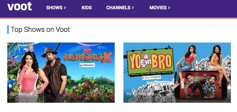 VOOT CHANNEL - Watch Free Online TV Shows, Movies, Kids