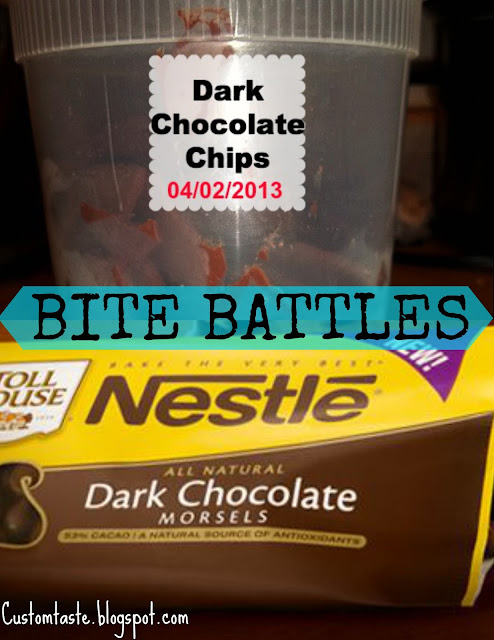 Bite Battles: Dark Chocolate Chips by Custom Taste