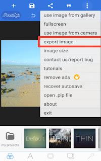 Cara merubah ukuran gambar di hp android
