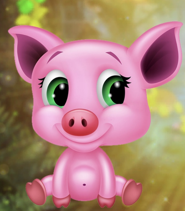 Games4King Funny Baby Pig Escape