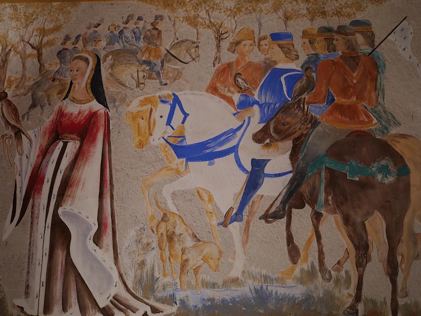 Fresque Chapelle Sainte Anne Guémene Penfao