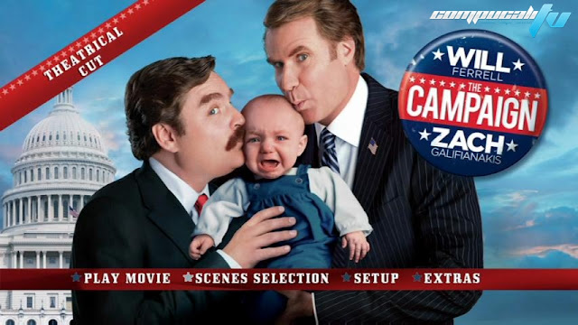 The Campaign DVDR NTSC Español Latino Menú Full 2012