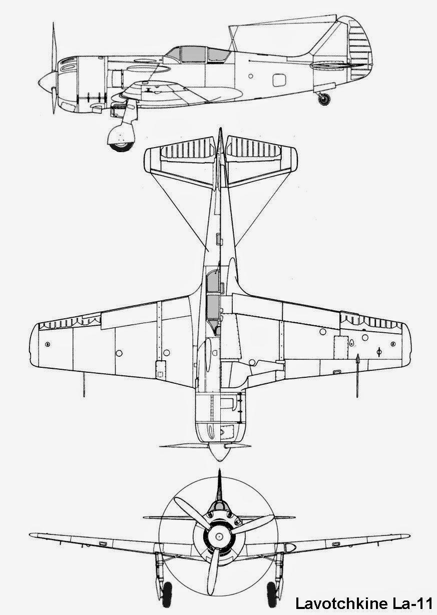 airplane scale modelkit  lavochkin la