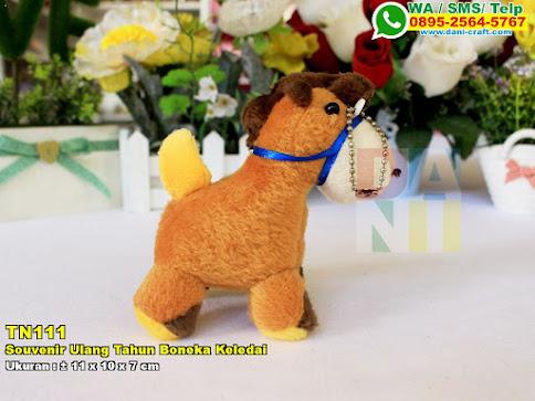 Souvenir Ulang Tahun Boneka Keledai