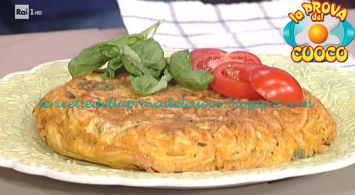 Frittata di pasta ricetta Messeri da Prova del Cuoco