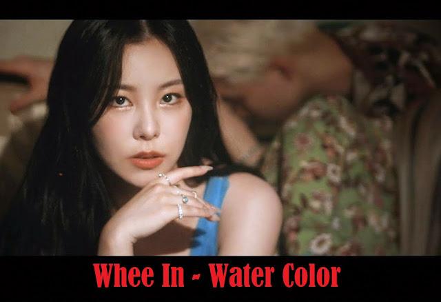 Lirik lagu Whee In water color dan Terjemahan