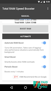 Total RAM Speed Booster Paid APK