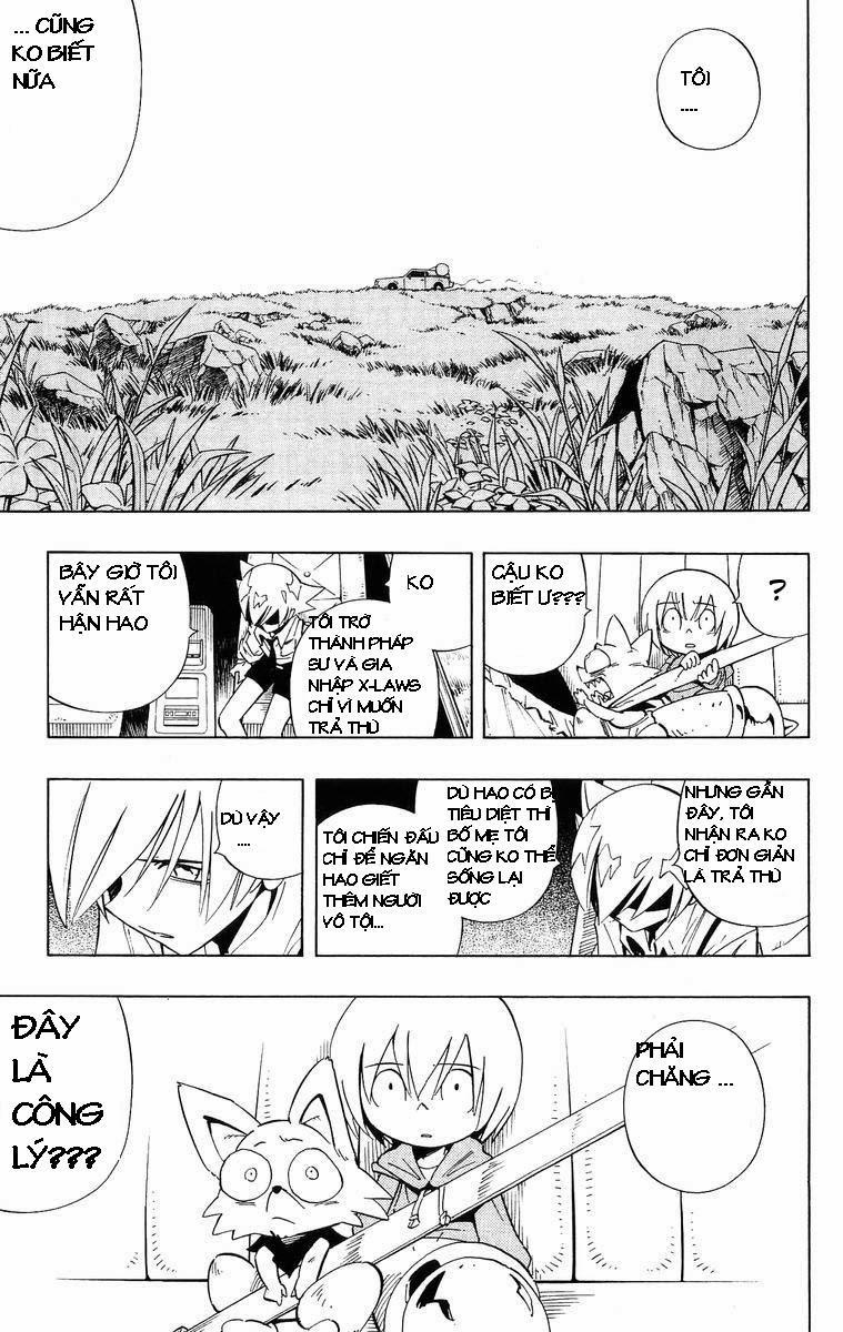 Shaman King [Vua pháp thuật] chap 229 trang 8