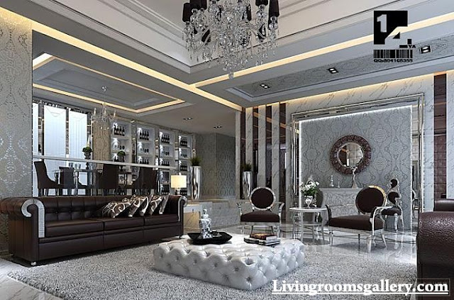modern POP false ceiling designs for living room