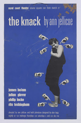 The Knack, Theatre Poster designed by Pauline Boty