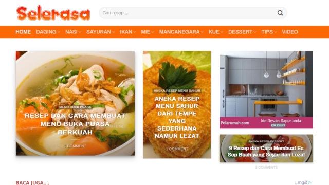 5000+ Resep masakan makanan Indonesia dan mancanegara praktis lengkap