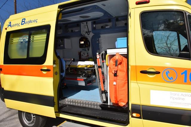 Θεσπρωτία: Οικογένεια από τη Λίστα Θεσπρωτίας δώρισε ασθενοφόρο στο Νοσοκομείο Φιλιατών