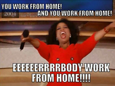 oprah work from home