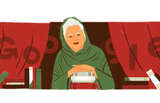 Google Doodle Bano Qudsia का 92 वां जन्मदिन मना रहा है
